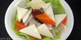 青菜豆腐湯